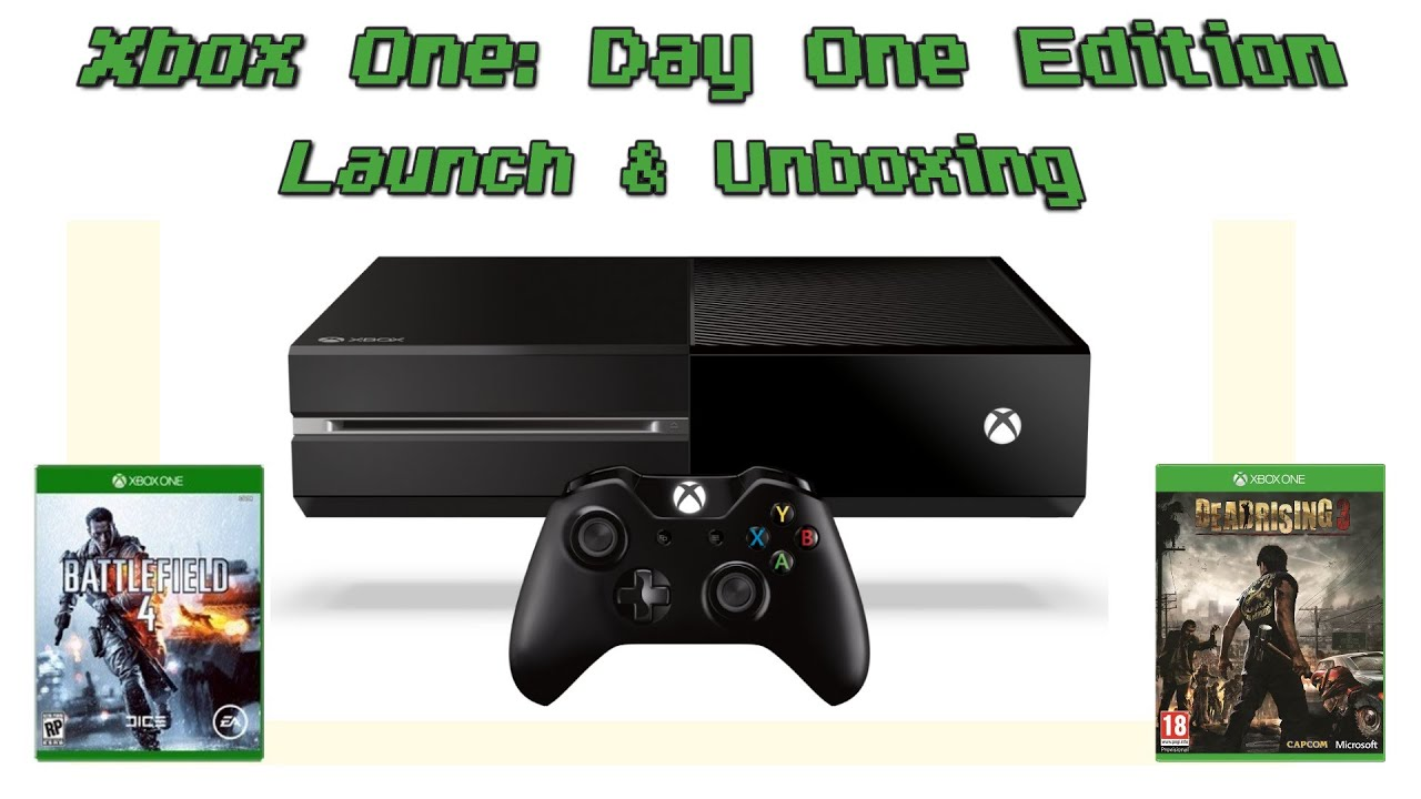 Xbox One: Day One Edition Launching + Unboxing - YouTube