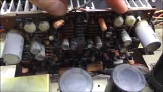Marantz 1030 Amplifier Service, Repair, and Bias BG007