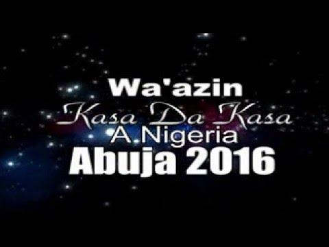 1 WAAZIN KASA DA KASA A NIGERIA ABUJA 2016
