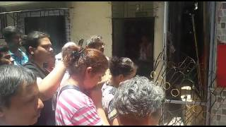 INDIA - Demolition of a Cross in Bandra
