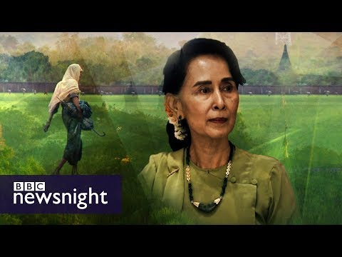 What is Aung San Suu Kyi\'s responsibility for the Rohingya crisis? DEBATE – BBC Newsnight