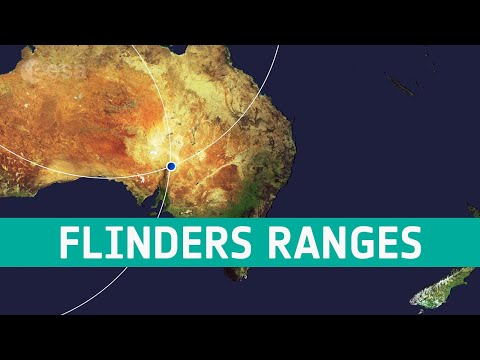 Earth from Space: Flinders Ranges, South Australia