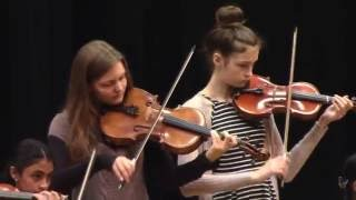 "Spring Recital  2015 Scandinavian Fiddle Tune ""Sextur"""