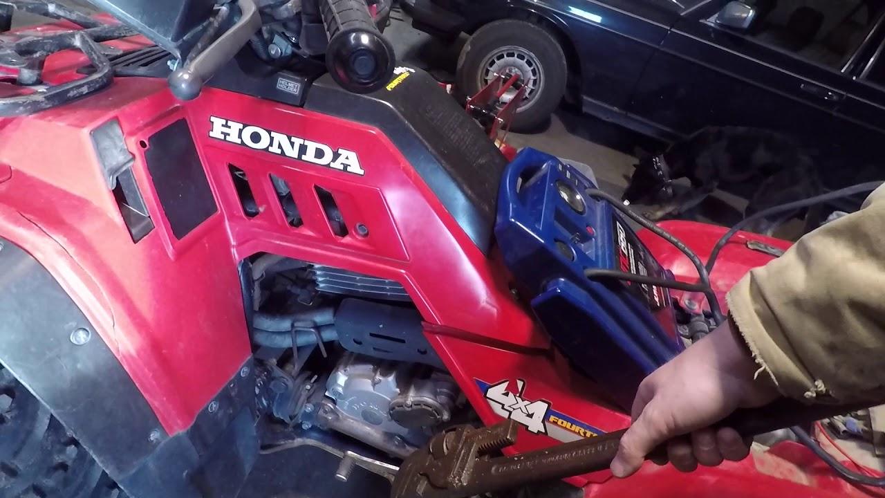 Why the Honda ATV won't start