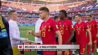 Mundial, Grupo G: Túnez 2-1 Panamá; Bélgica 1-0 Inglaterra