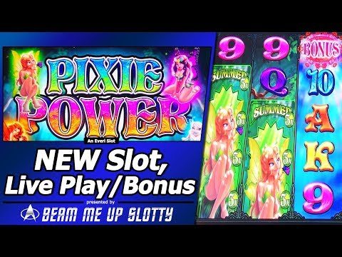 Pixie Power Slot - Live Play, Free Spins, Nice Bonus Win