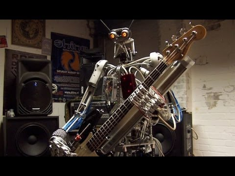 Battle of the Robot Music Bands: Z Machines vs Compressorhead