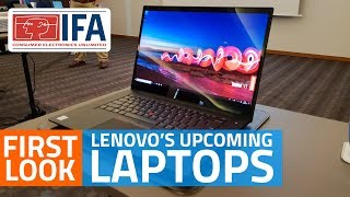 Lenovo Yoga Book C930, Yoga C630 WOS, ThinkPad X1 Extreme First Look