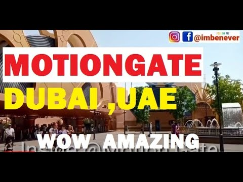 Amazing Motiongate Dubai  All park rides | Dubai Parks and Resort 2020