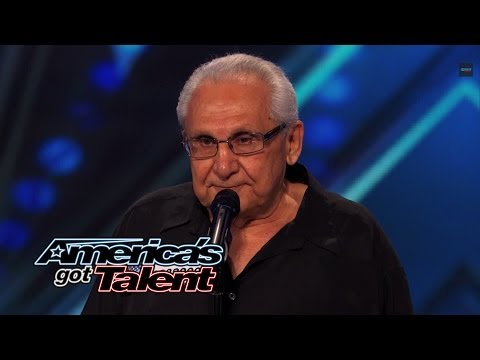 Frank The Singer: 74YearOld Channels Frank Sinatra  America's Got Talent 2014