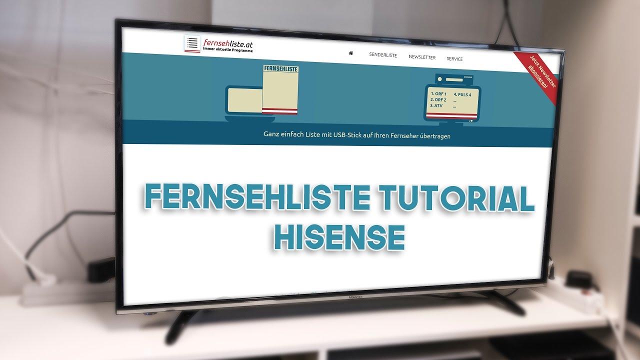 hisense senderliste