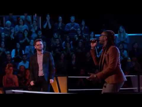 Delvin Choice Vs  Josh Kaufman   Signed, Sealed, Delivered I'm Yours  The Voice Highlight