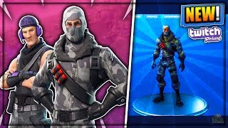 New EXCLUSIVE Free Skins Pack Fortnite! - Twitch Prime Pack FREE! (Fortnite Battle Royale)