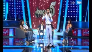 5 موووواه - عدوية شعبان عبد الرحيم يشعل الاستوديو بأغنية