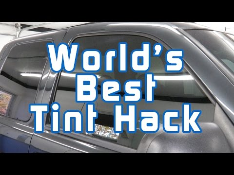 World's Best Tint Hack