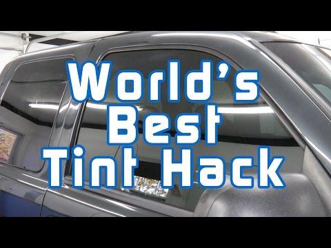 World's Best Tint Hack