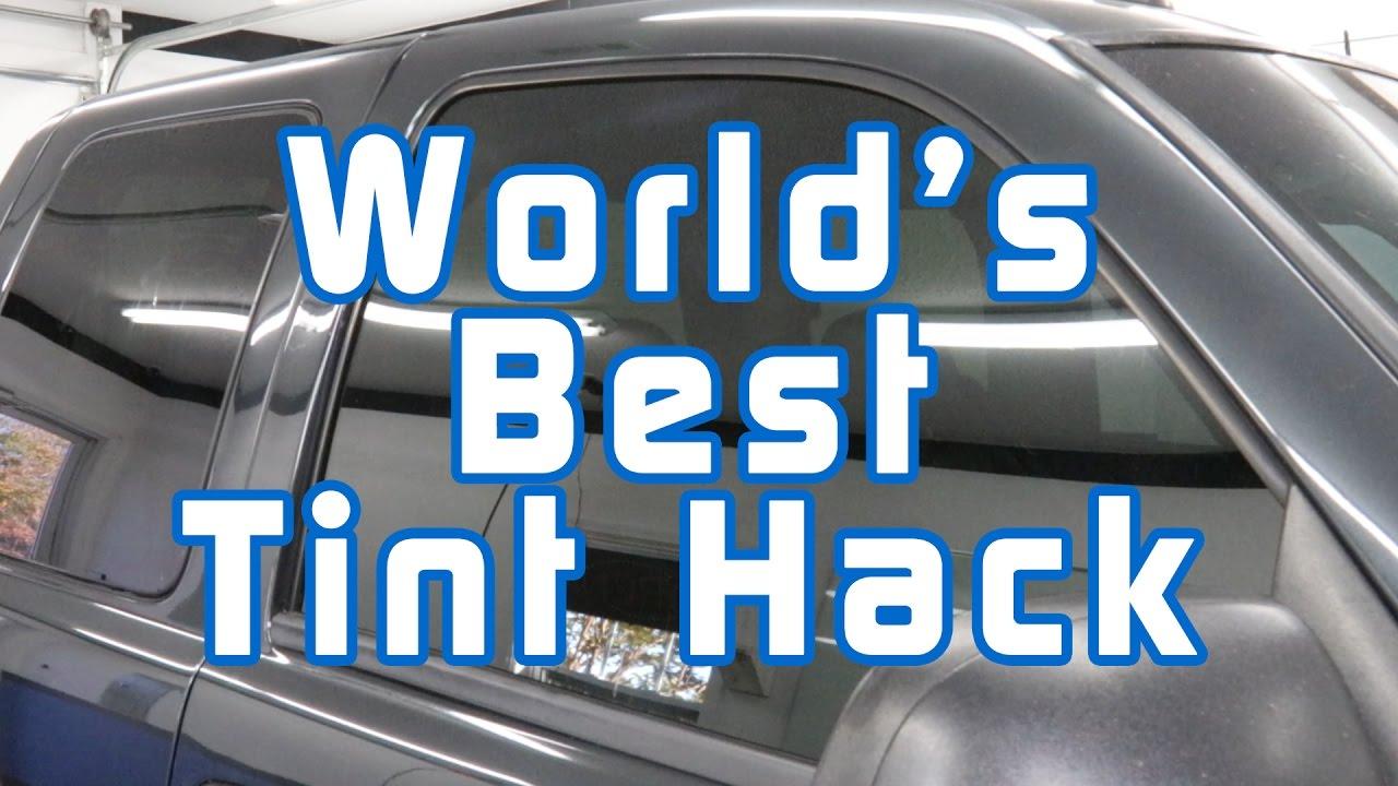 World's Best Tint Hack - YouTube