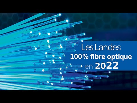 Les Landes dans les départements les mieux couverts en fibre optique d'ici 2022