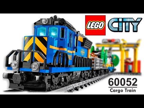 LEGO CITY 60052 Cargo Train Lego Speed Build COMPILATION All Instructions