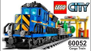 LEGO CITY 60052 Cargo Train Lego Speed Build COMPILATION All Instructions