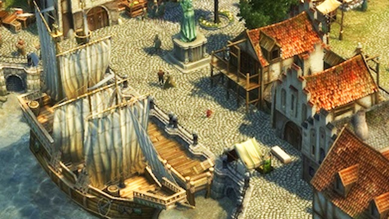 Anno 1404 Dawn Of Discovery Gameplay Pc Hd
