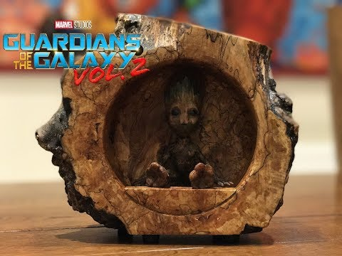 Making A Baby Groot From Guardians Of The Galaxy Movie