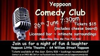 Comedy Club Promo