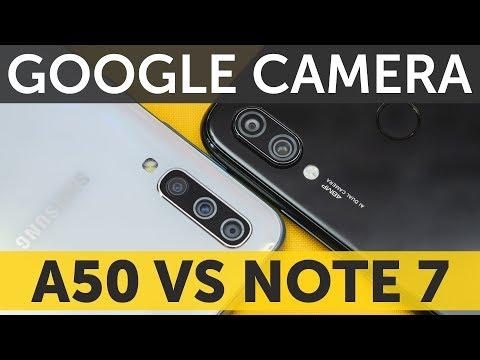 Samsung Galaxy A50 vs Xiaomi Redmi Note 7 сравнение камер и Google Camera HDR - СУПЕР!
