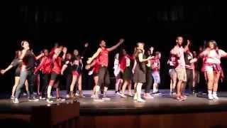 a b miller high school drama class