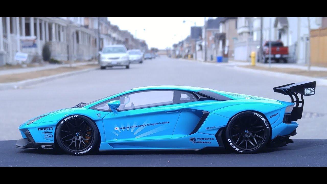 Gt Spirit 1 18 Lamborghini Lp700 4 Liberty Walk Youtube