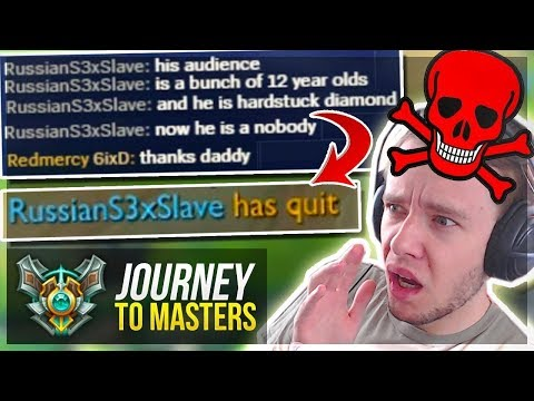I FINALLY DID IT!! BUT TOXIC TEAM RAGE QUITS.. - Journey To Masters | League of Legends