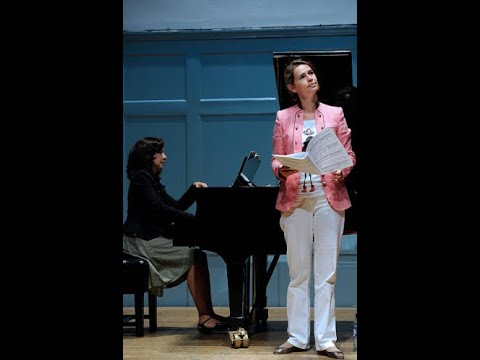 Sophie Koch sings Schumann lieder - Live, 2009