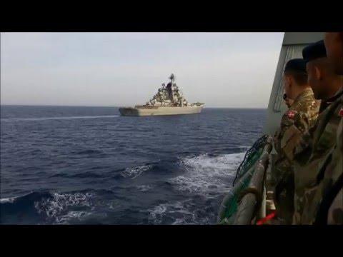 Russia´s biggest warship Kirov Class Salute part 1