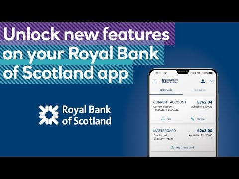 Unlocking all of your app's features | Royal Bank