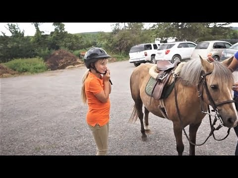 FLASHBACK  FRIDAY!  GABBY RIDING AT 8.5 YEARS OLD!