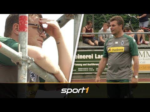 Max Eberl schließt Abschied von Dieter Hecking bei Borussia Mönchengladbach aus | SPORT1 - DER TAG