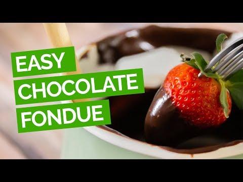 Easy Chocolate Fondue