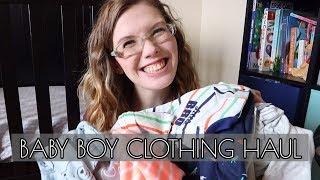 BABY BOY CLOTHING HAUL | Carter