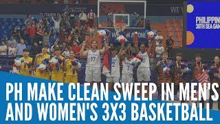 SEA Games 2019: Philippines makes clean sweep in men's and women's 3x3 Basketball
