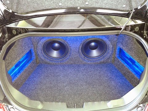 2011 Camaro custom trunk build hybrid audio  zapco amps Pirate 1979
