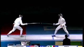 Fencing JWCH 2010 Mens Epee Team Gold Medal Match