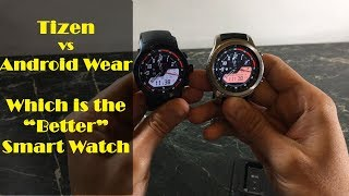 Tizen vs Android Wear 2.0 : Which is the best smart watch for you?