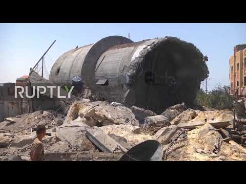 State of Palestine: Hamas sites reduced to rubble by Israeli airstrikes