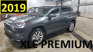 2019 Toyota Rav4 XLE Premium Package Review of Features and Test drive