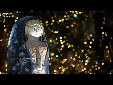 Vatican Christmas preparations