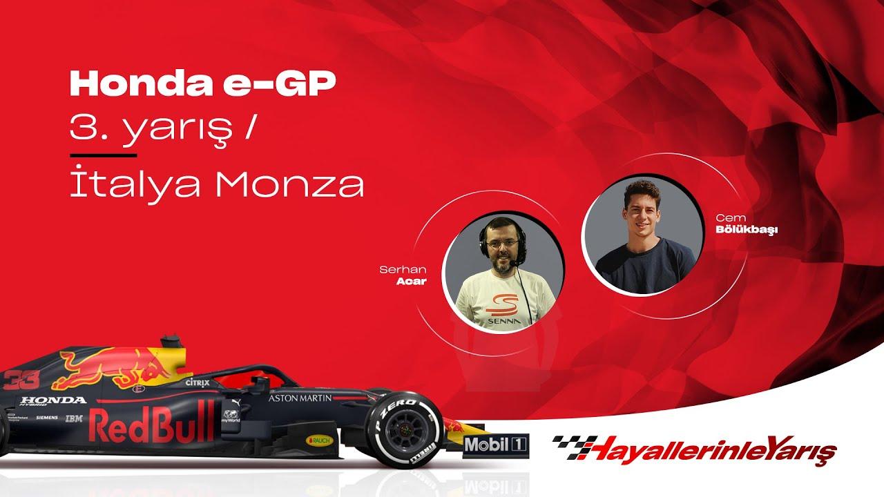#HayallerinleYarış l Honda e-GP 3. Yarış 🏁
