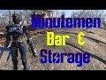 Commander's Office and Bar - Fallout 4 Oberland Station Minutemen Settlement