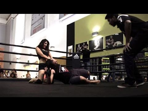 Meet Joelle, the Arab World's First Lady Wrestler