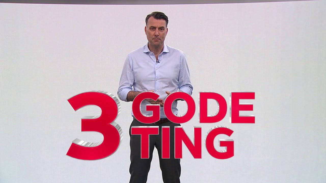 tre gode ting