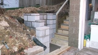 Retaining Wall & Staircase Build
